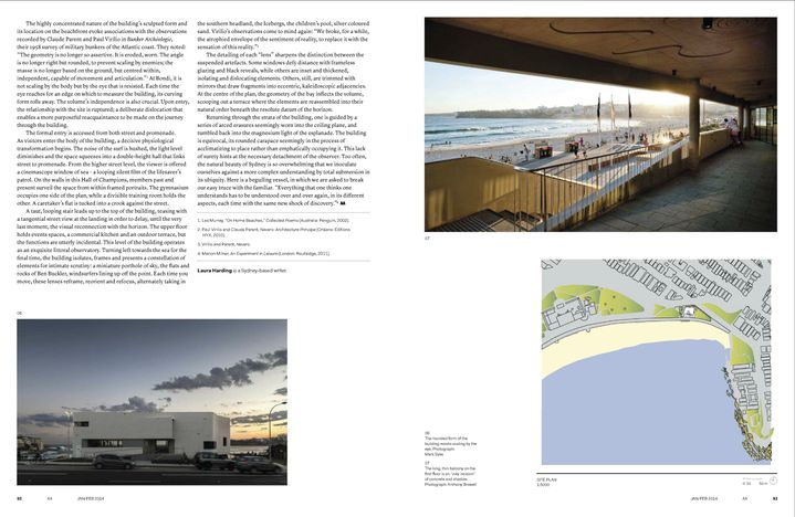North Bondi Surf Life Saving Club in Architecture Australia