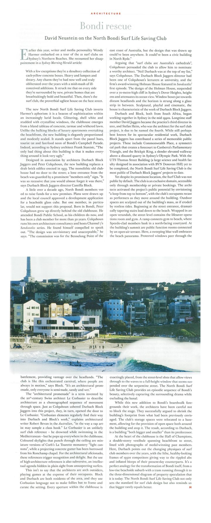 The Monthly Magazine Profiles DBJ and NBSLSC