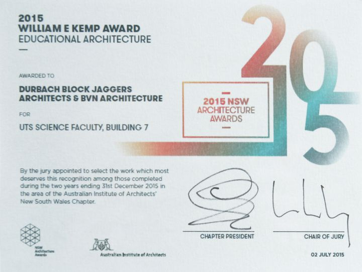 Educational Architecture William E Kemp Award