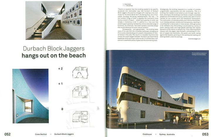 North Bondi Surf Life Saving Club Featured in Mark Magazine