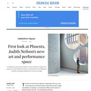 Phoenix Central Park Featured article in The Australian Financial Review Magazine.