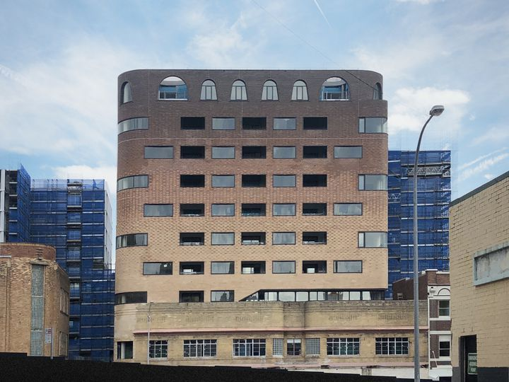 Newcastle East End apartments designed by Durbach Block Jaggers Architects Sydney
